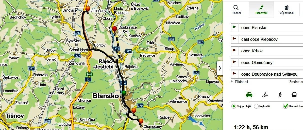 3.trasa - mapa finale